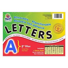 Self-Adhesive Letter,Fade Resistant (Set of 159)