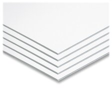 "Foam Board, 20""x30"", 25/CT, White"