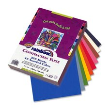 "<strong>Pacon Corporation</strong> Economy Construction Paper, 9""x 12"", 200/PK, Assorted"