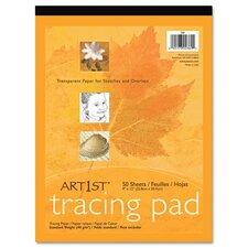 Art1St Parchment Tracing Paper, 50 Sheets