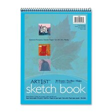 Artist's Sketch Book, 30 Sheets/Pad