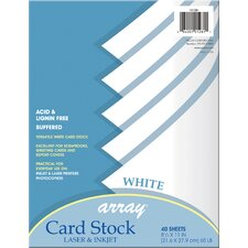 40 Count Card Stock
