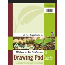 40 Sheet Ecology Drawing Pad