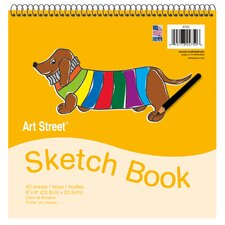 50 Sheet Padded Sketch Book