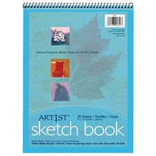 30 Sheet Medium Weight Sketch Book