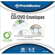 Printworks CD and DVD Envelopes