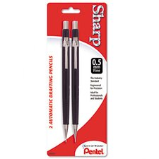 Sharp Automatic Pencil, 0.50 mm, 2/Pack