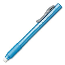 Eraser, Retractable, Refillable, Sky Blue