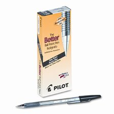 Better Ballpoint Stick Pen, Fine, 12/Pack