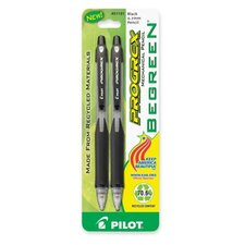 Mechanical Pencil,Rubber Grip,Refillable,.7mm,2/PK,Black