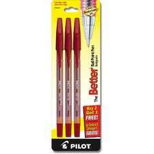 Black Fine Point Better Ball Pen (Set of 6)