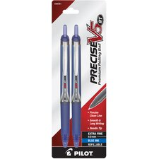 Precise® V5RT Extra Fine Rollerball Retractable Pen (Pack of 2) (Set of 6)