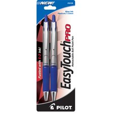 2 Count Easy Touch® Pro Medium Point Ballpoint Retractable Pen (Set of 6)