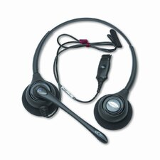 Supraplus Over-Head Cord Telephone Wideband Headset