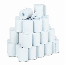 Recycled Receipt Roll, 50/Carton