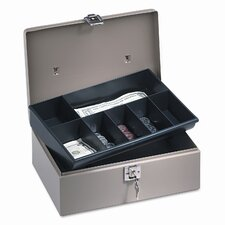 Securit Lock'N Latch Steel Cash Box