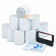 Paper Roll, Credit Verification Kit, 10/Carton