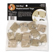 Securit Extra Blank Velcro Tags, 12/Pack