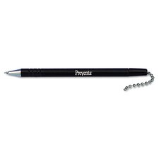 Refill for Preventa Deluxe Antimicrobial Counter Pen, Medium, Black Ink