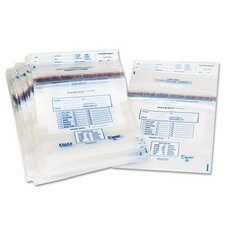 Clear Disposable Plastic Coin Tote, 100/Box