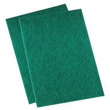 Premiere Pads - Medium-Duty Scour Pads Med Duty Scrubber Thi  -Green: 721-196 - med duty scrubber thi  -green
