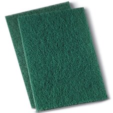 Heavy Duty Scour Pad in Green