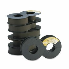 172293001/175006001/179006001 Printer Ribbon, 50M Yield, Black, 6/box