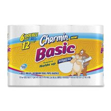 Charmin Basic Double Roll Bathroom Tissue (6 Pack)