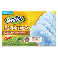 Dry Sweeping Refills with Gain Fresh Scent (Pack of 12)
