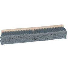 "Pro Line Brushes - Gray Flagged Polypropylene Floor Brushes Push Broom Gray Flagg D24"": 733-20424 - push broom gray flagg d24"""