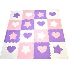 Tadpoles Classic Hearts Playmat Set