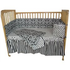 Damask Tadpoles Crib Bedding Set