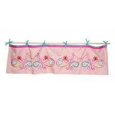 "Butterfly Paisley 60"" Curtain Valance"