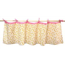 Field of Flowers Curtain Valance