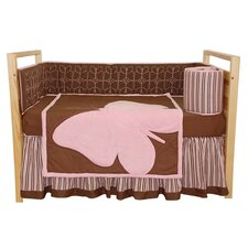<strong>Tadpoles</strong> Butterfly Baby 4 Piece Crib Bedding Set