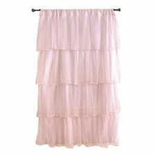 Multi-Layer Tulle Curtain Single Panel