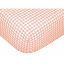Tadpoles Classic Gingham Fitted Sheet (Set of 2)
