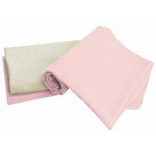 Arlington Organic Flannel Receiving Blanket (Set of 3)