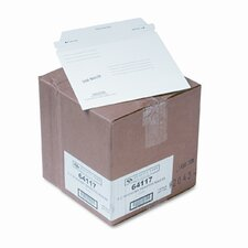 Redi-Strip Economy Disk Mailer, 7 1/2 x 6 1/16, White, Recycled, 100/carton