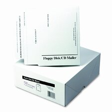 Recycled Foam-Lined Multimedia Mailer, Contemporary, 8 1/2 x 6, White, 25/box