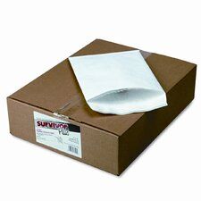 Tyvek Air Bubble Mailer, Self-Seal, Side Seam, 9 x 12, White, 25/box