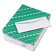 Security Tinted Business Envelope, Traditional, #10, White, 500/box