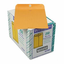Clasp Envelope, Side Seam, 10 x 13, 28lb, Light Brown, 250/carton