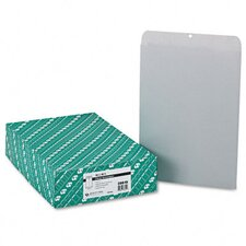 Clasp Envelope, 12 x 15 1/2, 28lb, Executive Gray, 100/box