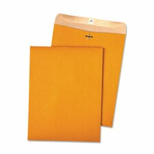 <strong>Quality Park Products</strong> 100% Recycled Kraft Clasp Envelope, 100/Box