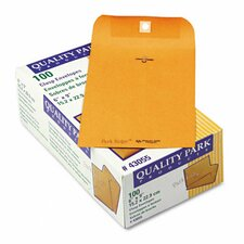 Park Ridge Kraft Clasp Envelope, 6 x 9, Light Brown, 100/box