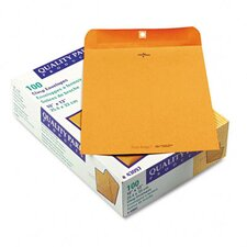 Park Ridge Kraft Clasp Envelope, 100/Box