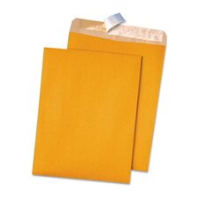 100% Recycled Kraft Redi-Strip Envelope, 100/Box