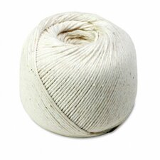 White Cotton 10-Ply (Medium) String In Ball, 475 Feet