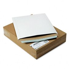 Photo/Document Mailer, Redi-Strip, Side Seam, 12 3/4 x 15, White, 25/box